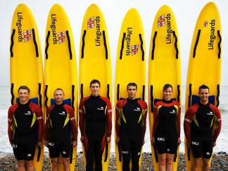 Lifeguard Line Up - Cromer