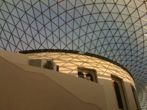The roof of the British Museum by Nigel Temple