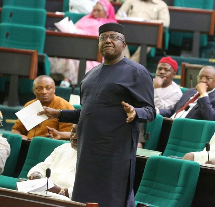 Reps Minority Leader, Hon. Leo Ogor