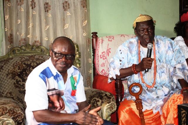 Former Governor Emmanuel Uduaghan and the Odio-Ologbo of Umeh Kingdom