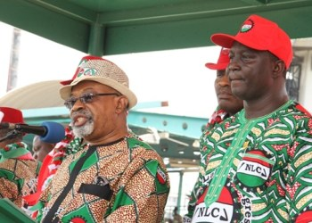 Dr. Chris Ngige and NLC President, Ayuba Wabba
