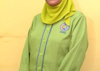 TRAGIC DEATH. Professor Hj Nurain Lubis dies tragically after being killed by her student. Photo from UMSU