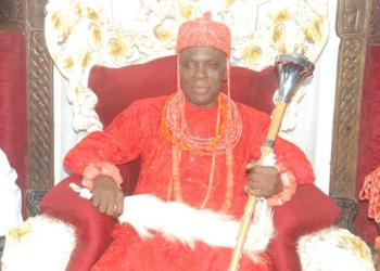 Late Orosuen of Okere-Urhobo Kingdom in Warri, Prof. Paul Oghenero Okumagba, Idama 11.