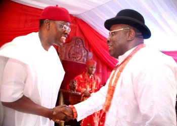 Governor Ifeanyi Okowa of Delta State and, his Bayelsa State counterpart, Seriake Dickson