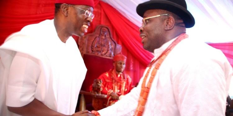 Governor Ifeanyi Okowa of Delta State and, his Bayelsa State counterpart, Seriake Dickson