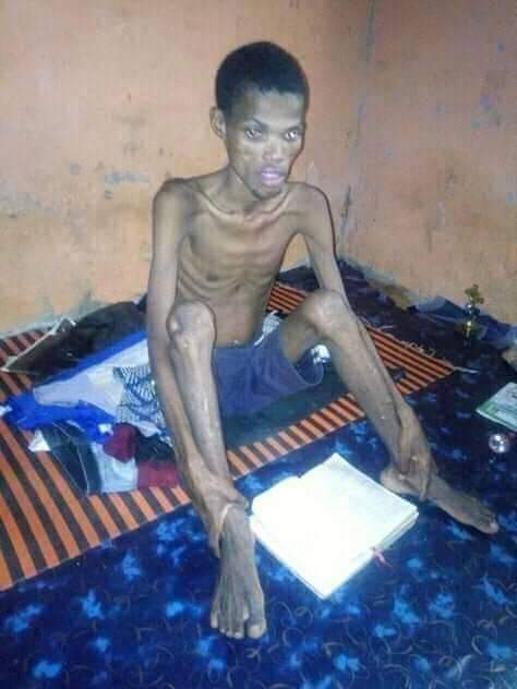 Oke after the 41 days and night dry fasting