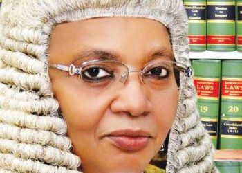 Justice Zainab Bulkachuwa, President, Nigeria Court of Appeal