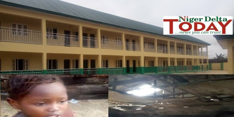 New and old buildings of Okotie-Eboh Primary School 1 in Sapele, Delta State