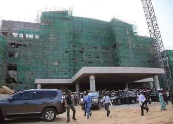 Ongoing Construction of Delta State Secretariat