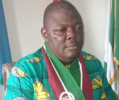 Delta NLC Chairman, Comrade Goodluck Ofobruku