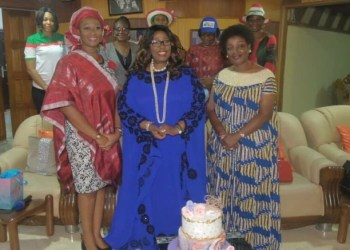 Revd. Freda Idahosa-Ajayi, Arch Bishop Margaret Benson-Idahosa and Mrs. Obaseki