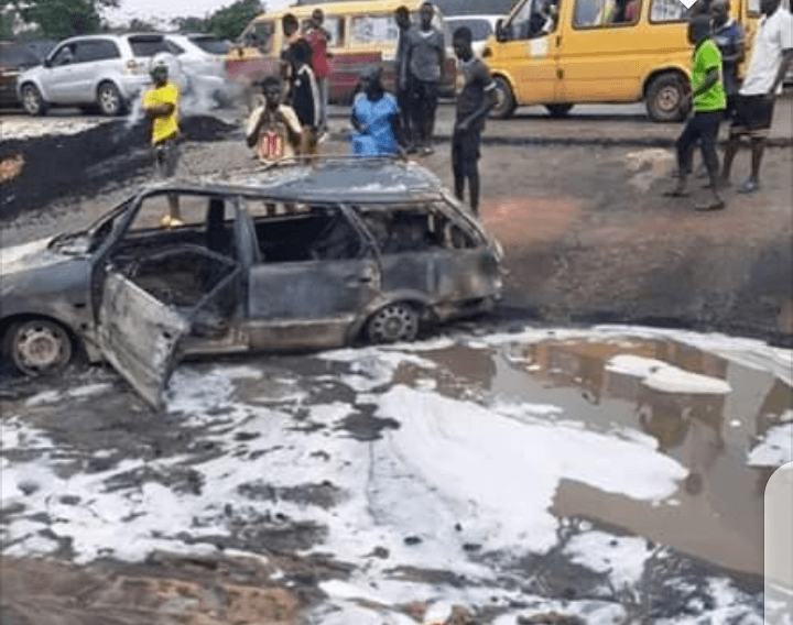 Heartbreaking : 20 Burnt To Death As Tanker Explodes In Delta (PHOTOS)