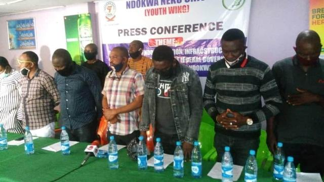 Ndowka Youths during the briefing