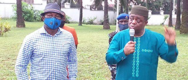 Femi-Fani-Kayode visits Anambra governor, Chief Willies Obiano