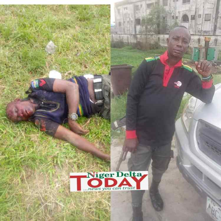 Corporal Etaga Stanley killed during #EndSARS protest in Ughelli, Delta State