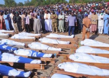 Corpses of Borno farmers killed by Boko Haram