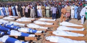Corpses of Borno farmers killed by Boko Haram