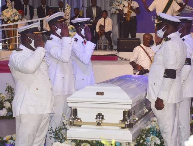 Remains of Pastor Dare Adeboye