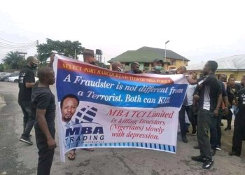 mba forex victims protest at christ embassy