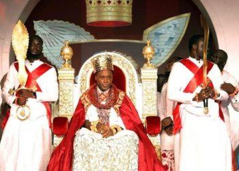 Olu of Warri, His Majesty, Ogiame Atuwatse lll during his coronation on Saturday at Ode-Itsekiri in Warri South LGA of Delta State.His Majesty, Ogiame Atuwatse lll during his coronation on Saturday at Ode-Itsekiri in Warri South LGA of Delta State.