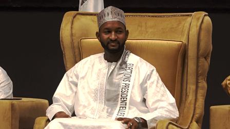 Elections 2020-2021 : Ibrahim Gado investi candidat à la présidentielle.