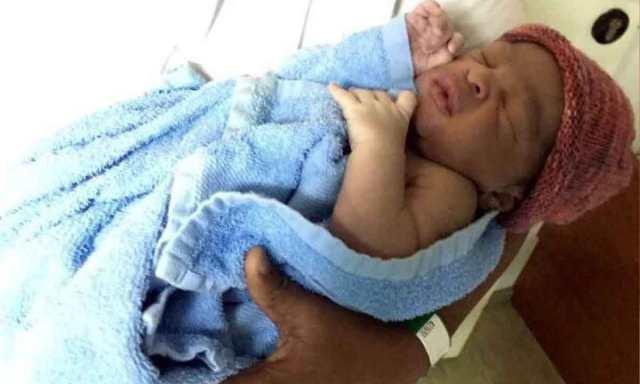 Faith Osunbor baby boy