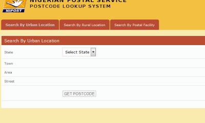 nigeria postal code