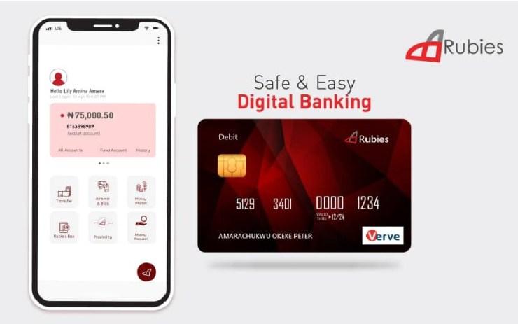 Rubies digital banking apps in nigeria