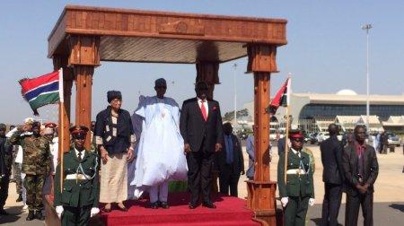 Résultats de recherche d'images pour «Buhari, Sirleaf in gambia»