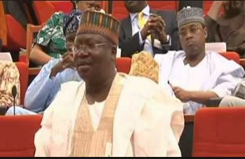 Image result for Ahmed Lawan assumes duty as Senate Leader