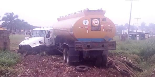 JUST IN: Petrol Tanker kills 2, Injures 4 in Ondo