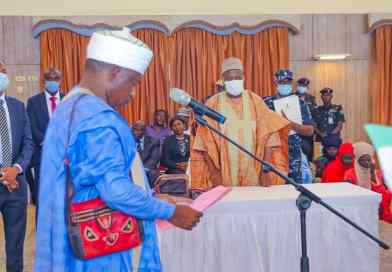 Gombe Governor Swears-in new High Court Judges, Khadis