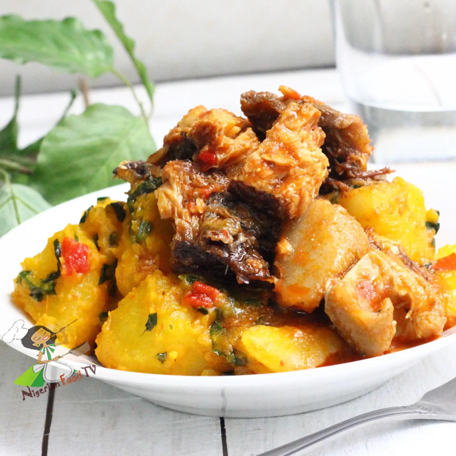 Yam Porridge Nigerian porridge yam