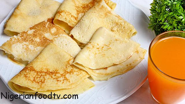 recipe for best nigerian pancake