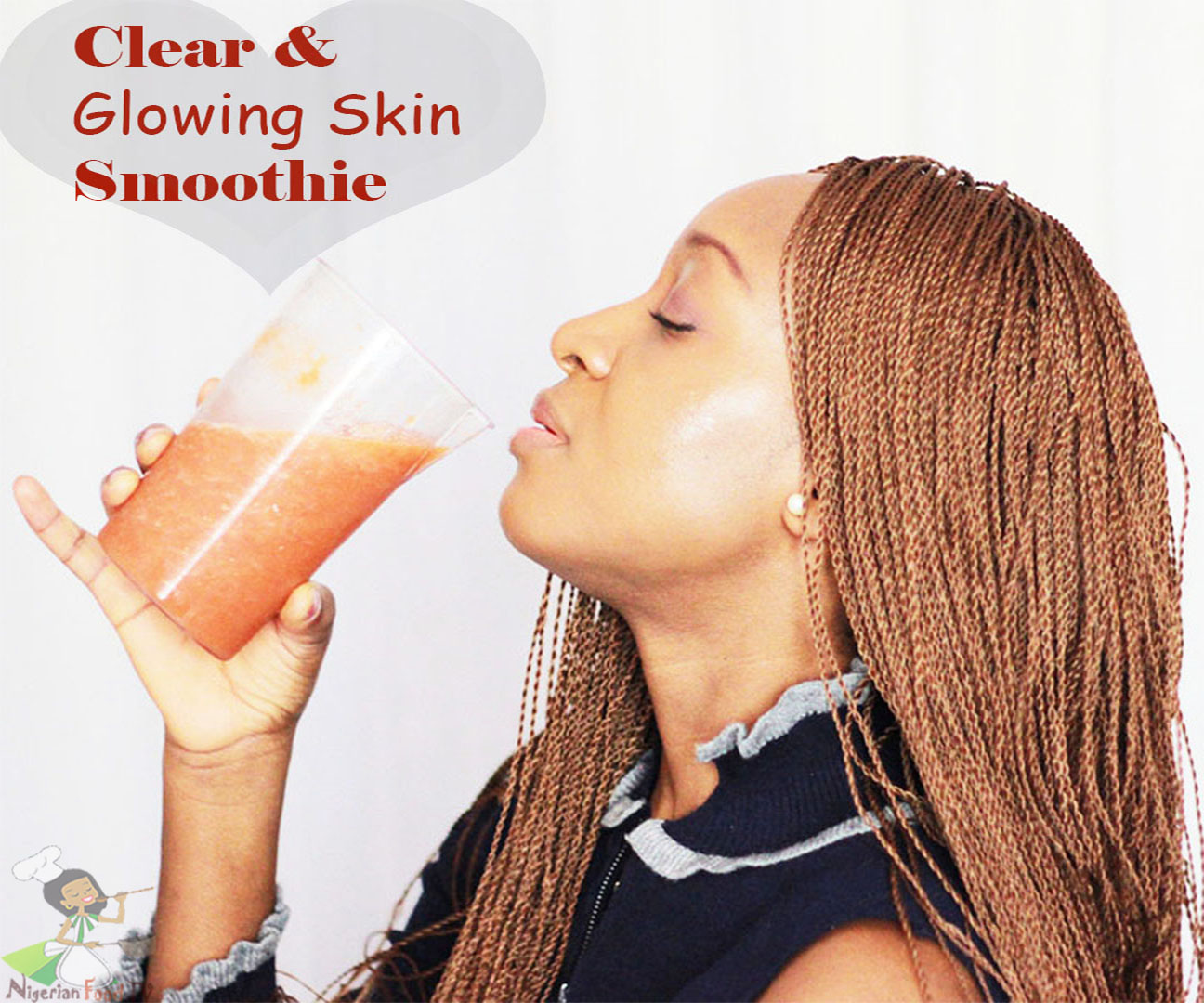 Skin Glowing Smoothie: CLear and Brighter Skin in 5 days