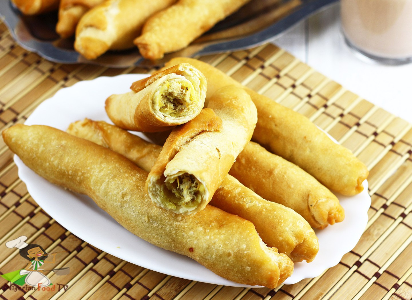 Nigerian fish roll african best fish roll recipe