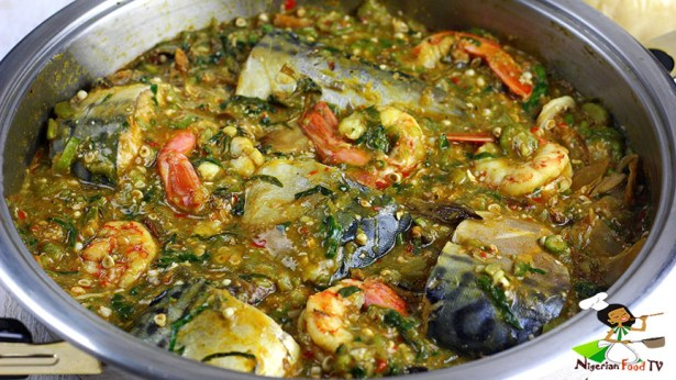 Sea Food Okra Soup Okro Soup Gumbo Nigerian Food Tv