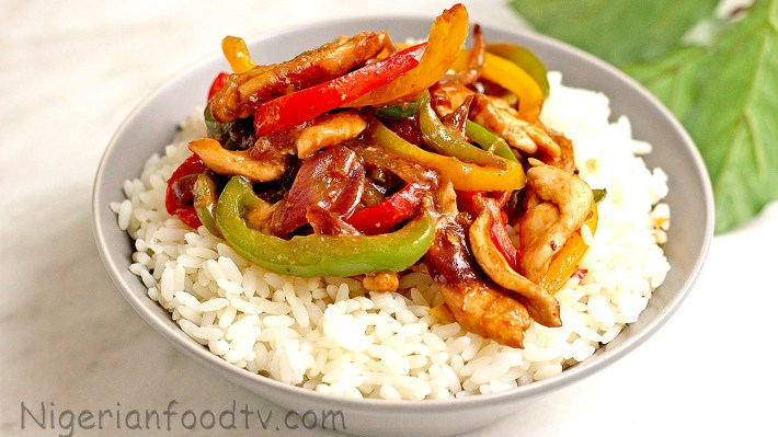 bell pepper chicken stir fry, chicken and bell pepper stir fry, stir fry chicken recipe