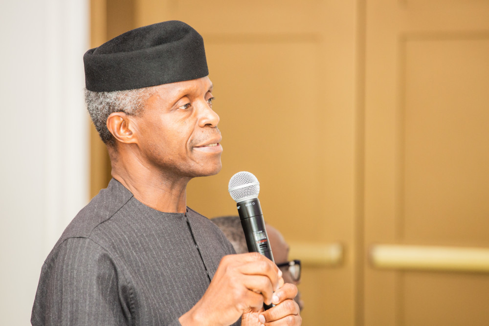 Image result for Nigeria is short of men of integrity in positions of power – Osinbajo