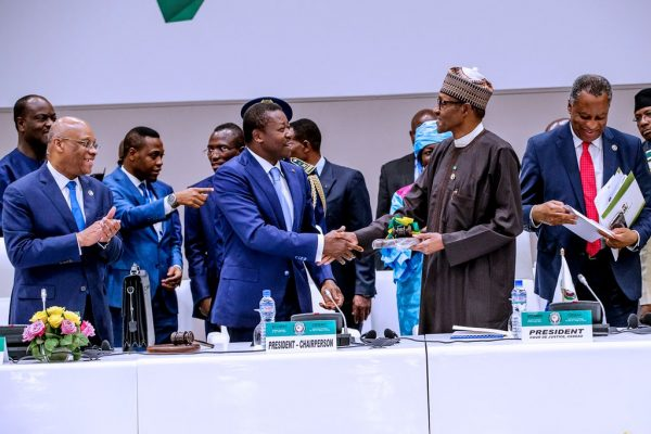 Image result for Nigeria ECOWAS Buhari