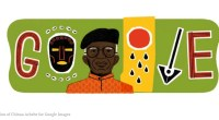 Google Celebrates Chinua Achebe with a Google Doodle