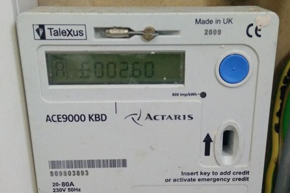 Prepaid meter codes for recharging and checking balance