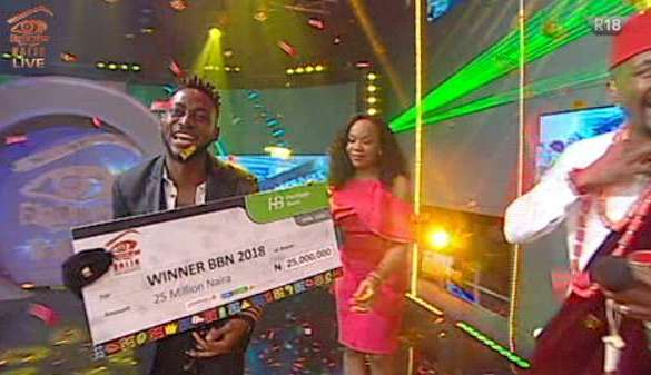 Nigerian Today - Miracle wins Big Brother Naija