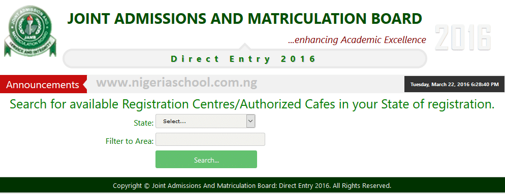 List of Accredited JAMB CBT Registration Centres - 2017/18