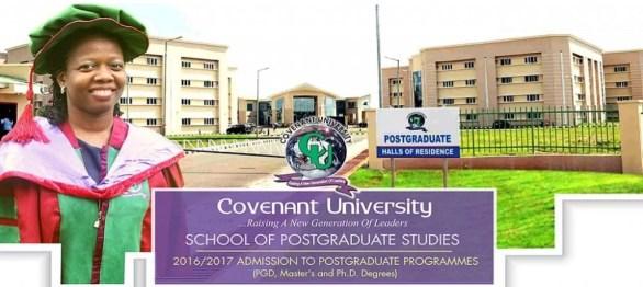 Covenant University Postgruadate Form