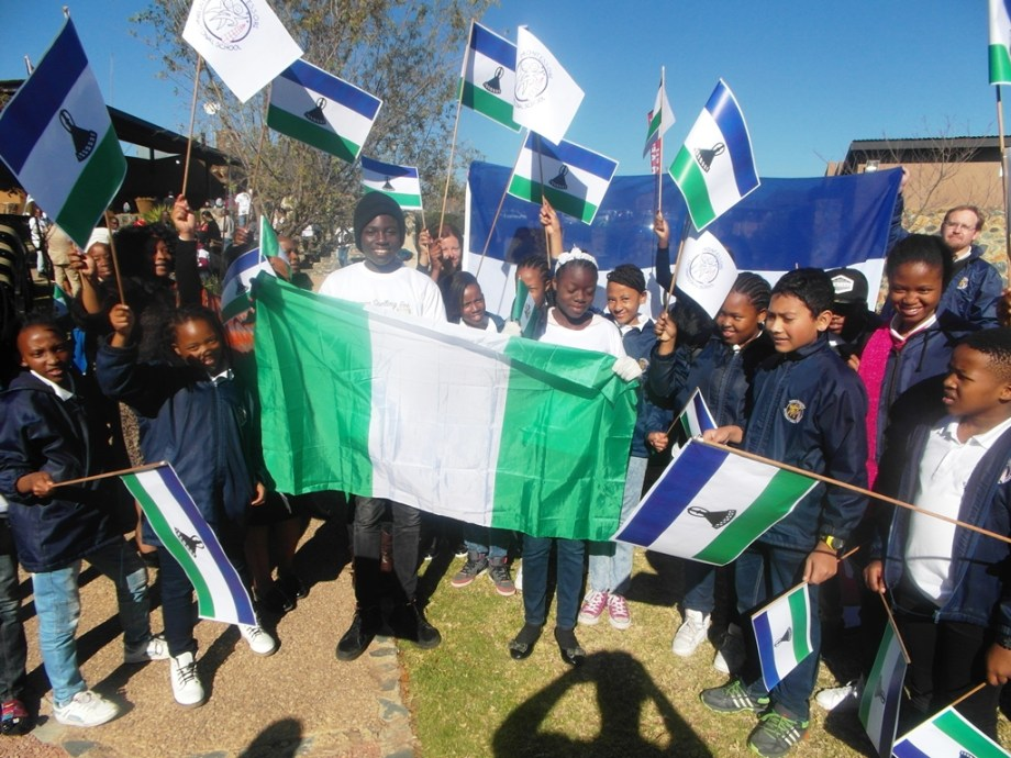 Team Nigeria and Team Lesotho