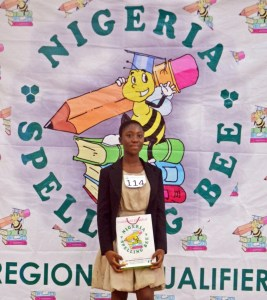 Nigeria Spelling Bee National Finalist, South-West