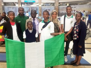 Nigeria Spelling Bee Team Arrive South Africa