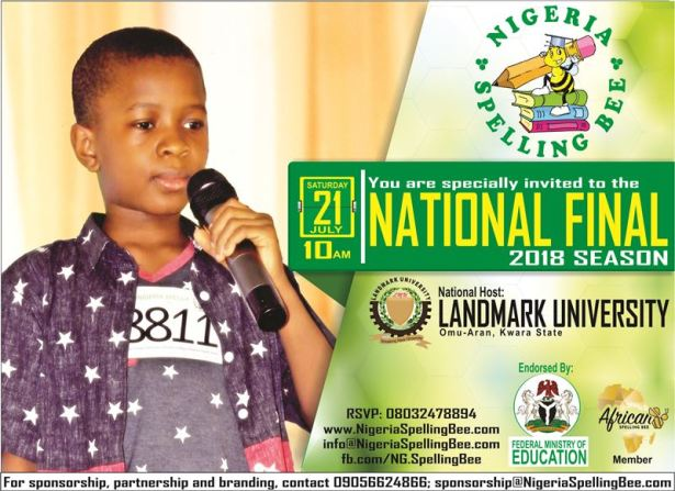 60 Spellers to National Finals