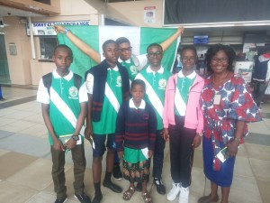 Team Nigeria Spelling Bee leaves for Uganda